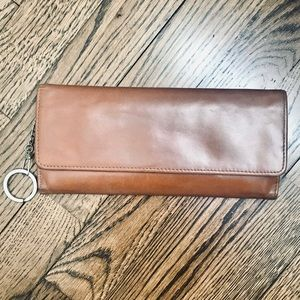 HOBO the Original brown leather wallet